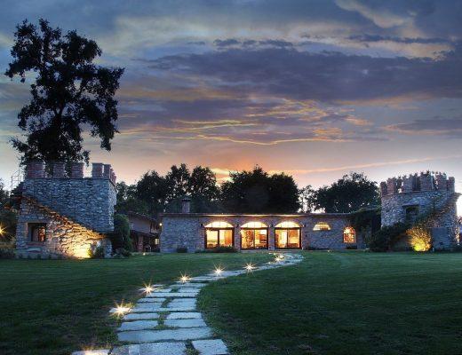 maison de luxe en pierre